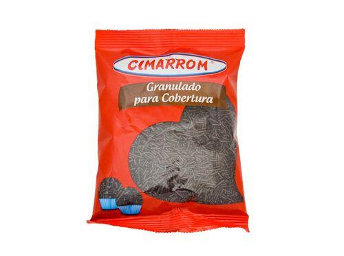 GRANULADO CIMARROM SABOR CHOCOLATE 150G image number 0