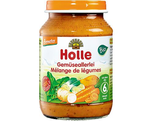 BOIAO BIO PURE HOLLE LEGUMES 6M 190G image number 0