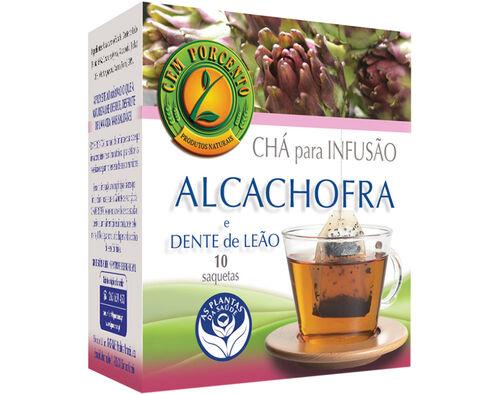 CHÁ CEM PORCENTO ALCACHOFRA DENTE LEÃO 10 SAQ image number 0