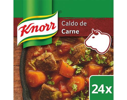 CALDO KNORR CARNE 24 CUBOS 240G image number 0