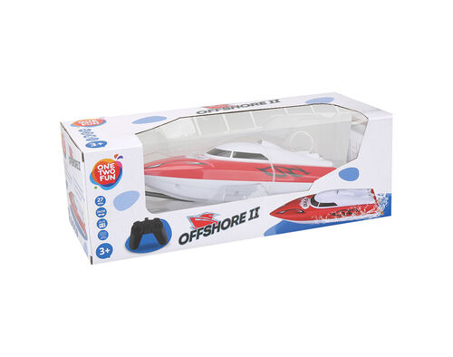 BARCO ONE TWO FUN SPEED BOAT 24X7X8 CM image number 1