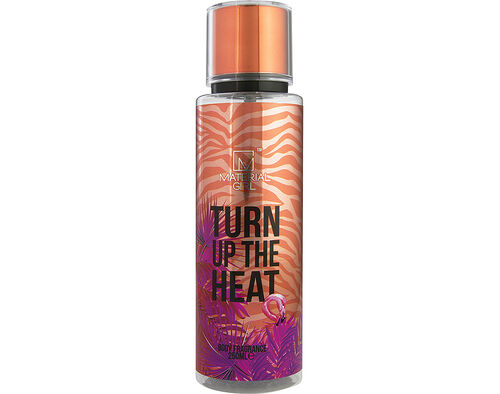 BODY MATERIAL GIRL TURN UP THE HEAT MIST 250ML image number 0