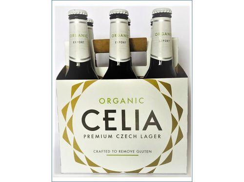 CERVEJA C/ALCOOL CELIA ZATEC S/GLÚTEN E BIO 6X33CL image number 0