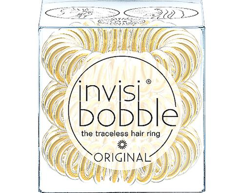 ELASTICO INVISIBOBBLE TIME TO SHINE YOU?RE GOLDEN image number 0