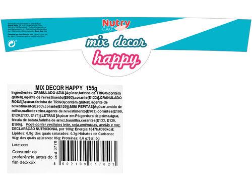 DECORAÇÃO NUTRY P/ PASTELARIA MIX 155 G image number 1