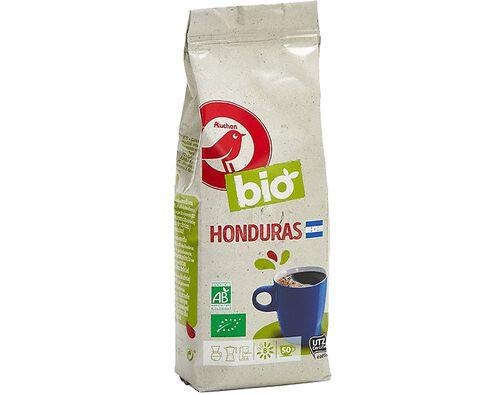 CAFÉ MOÍDO AUCHAN BIO HONDURAS INT.8 250 G image number 0