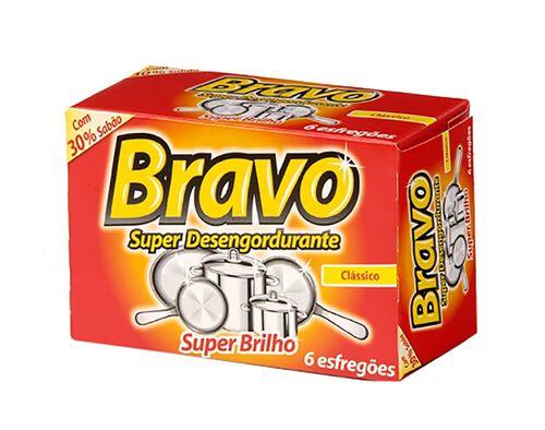 ESFREGÃO BRAVO TRADICIONAL 6 UN image number 0