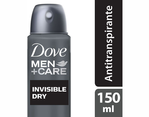 DEO SPRAY DOVE MEN INVISIBLE DRY 150ML image number 0