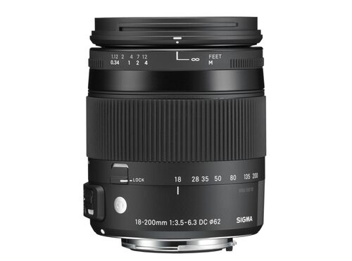 OBJECTIVA SIGMA 18-200/3.5-6.3 SI885954 PARA CANON image number 0
