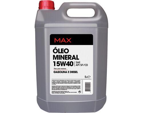 OLEO MOTOR MAX 15W40 5L image number 0