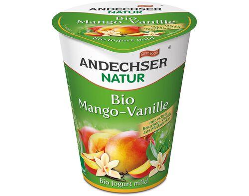 IOGURTE BIOLOGICO ANDECHSER MANGA E BAUNILHA 400G image number 0