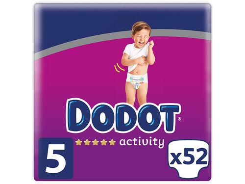 FRALDA DODOT ACTIVITY T5 11-16KG 52 UN image number 0