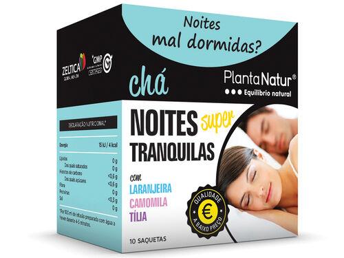 CHÁ PLANTANATUR NOITES SUPER TRANQUILAS 10 SAQ image number 0