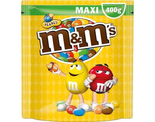 CHOCOLATE M&M'S CHOCO AMENDOIM 400G image number 0