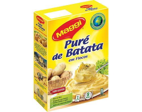 PURÉ MAGGI DE BATATA 250G image number 0