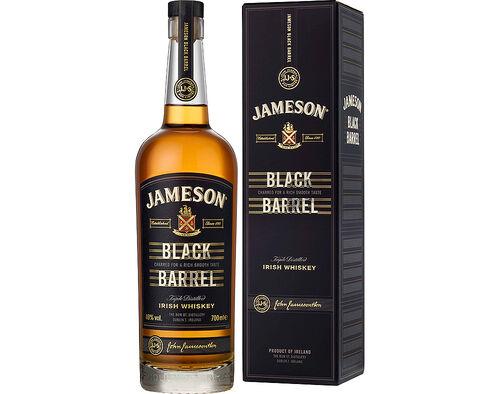 WHISKY JAMESON VELHO BLACK BARREL 0.70L image number 0