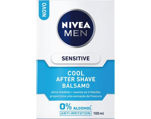 AFTER NIVEA MEN BÁLSAMO SHAVE SENSITIVE COOL 100ML image number 0
