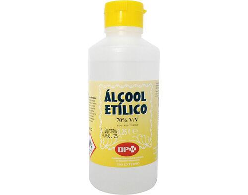 ALCOOL SANITARIO DPH 70% V/V 250ML image number 0