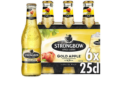 SIDRA STRONGBOW GOLD 6X0.25L image number 0