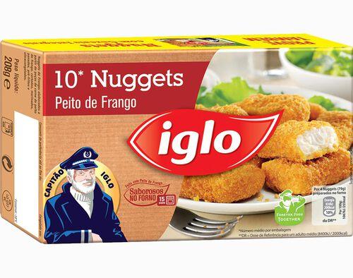 NUGGETS CAPITAO IGLO FRANGO 10 UN. 208G image number 0