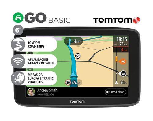 "GPS TOMTOM GO BASIC 6"" image number 0"