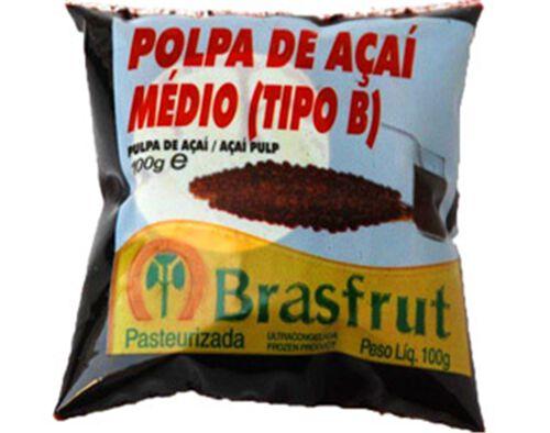 POLPA BRASFRUT DE FRUTA AÇAÍ 100G image number 0