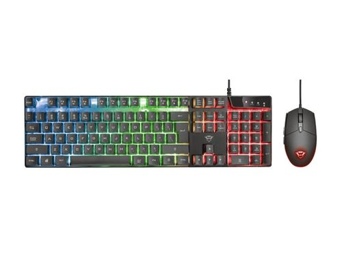 KIT GAMING TRUST GXT 838 AZOR TECLADO + RATO image number 0