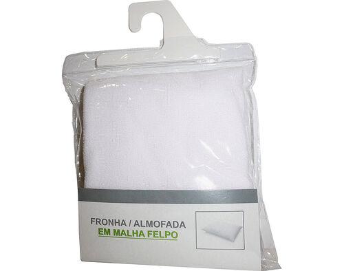 FRONHA PROTETORA FELPO COM FECHO 80%ALGODÃO 20%POLIESTER 50X70CM image number 0