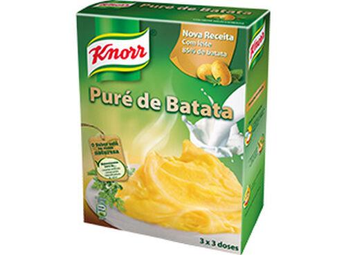 PURÉ KNORR DE BATATA 3X97G image number 0