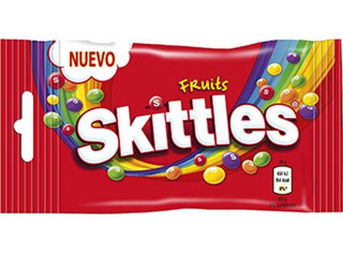 CARAMELOS SKITTLES FRUITS 38G image number 0