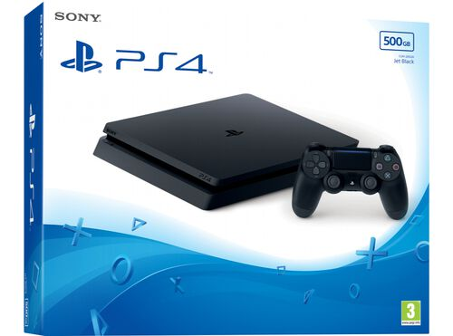 CONSOLA PS4 500 GB SONY SLIM 500GB image number 0