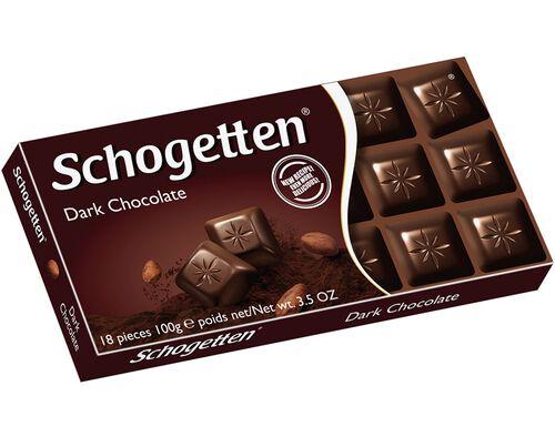 TABLETE SCHOGETTEN CHOCOLATE NEGRO 100G image number 0