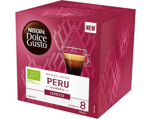 CAFÉ CÁPSULAS DOLCE GUSTO PERÚ BIO 12 UN image number 0