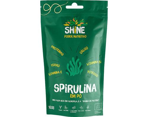 SPIRULINA SHINE BIO 100 G image number 0