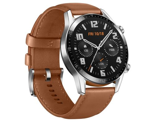 SMARTWATCH HUAWEI GT2 46MM CLASSIC CASTANHO image number 0