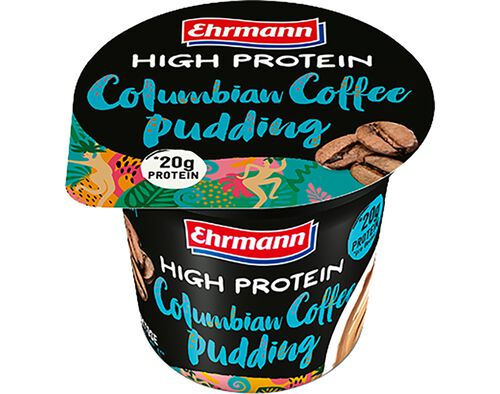 PUDIM EHRMANN MAIS PROTEÍNA COLUMBIAN COFFE 200G image number 0