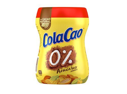 ACHOCOLATADO COLA CAO 0% 300G image number 1