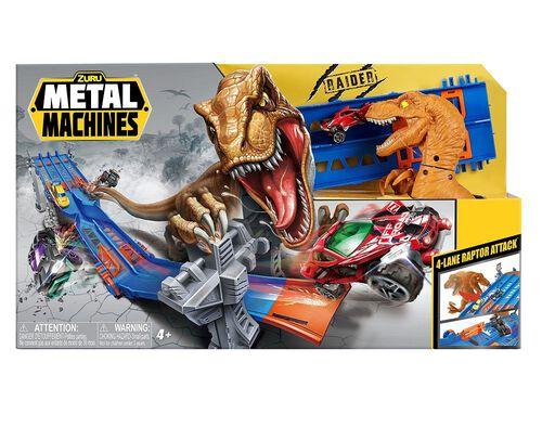 ROBOT METAL MACHINES ZURU 4 LANE RAPTOR ATTACK image number 0