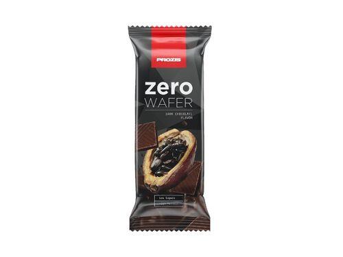 WAFER PROZIS ZERO PROTEICA CHOCOLATE PRETO 40G image number 0