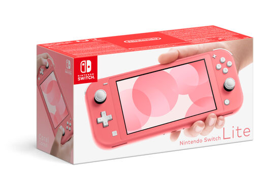 CONSOLA NINTENDO SWITCH LITE CORAL image number 0