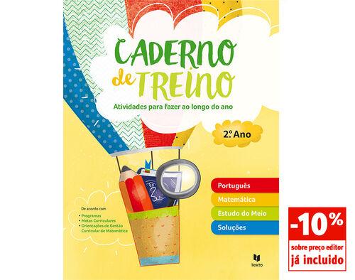 CADERNO DE TREINO TEXTO 2º ANO image number 0