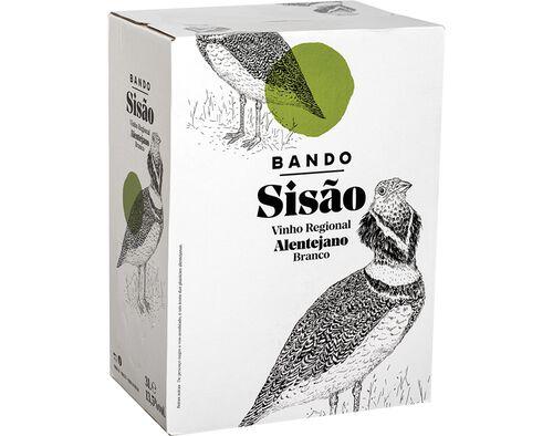 VINHO BANDO SISÃO TINTO BAG INBOX REGIONAL ALENTEJANO 3L image number 0