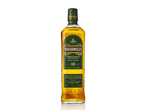WHISKY BUSHMILLS MALE 10 ANOS 0.70 L image number 0