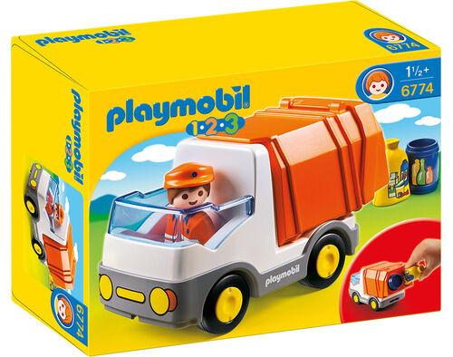 CAMIAO DO LIXO PLAYMOBIL 1.2.3 image number 0