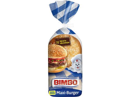 MAXI BURGUER BIMBO 4 UN 300 G image number 0