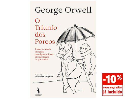 LIVRO O TRIUNFO DOS PORCOS DE GEORGE ORWELL image number 0