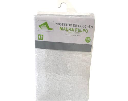 PROTETOR COLCHÃO FELPO 80%ALGODÃO 20%POLIESTIESTER 150X200X25CM image number 0