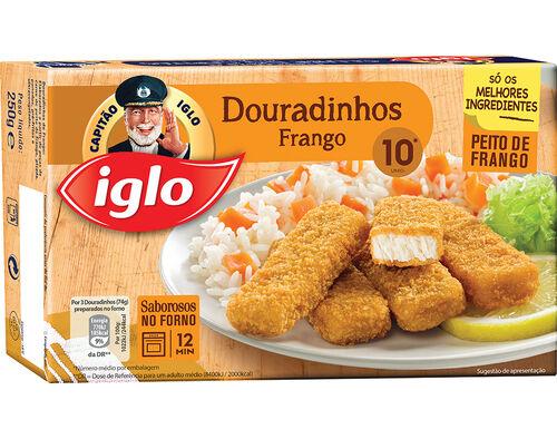 DOURADINHOS IGLO FRANGO 10 UN. 250G image number 0