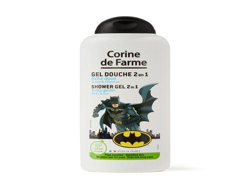 GEL BANHO 2 EM 1 CORINE FARME BATMAN 250ML image number 0