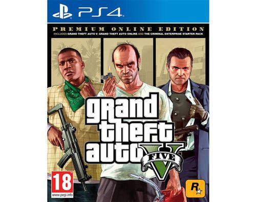 JOGO GTA V EDIÇÃO COMPLETA PS4 image number 0